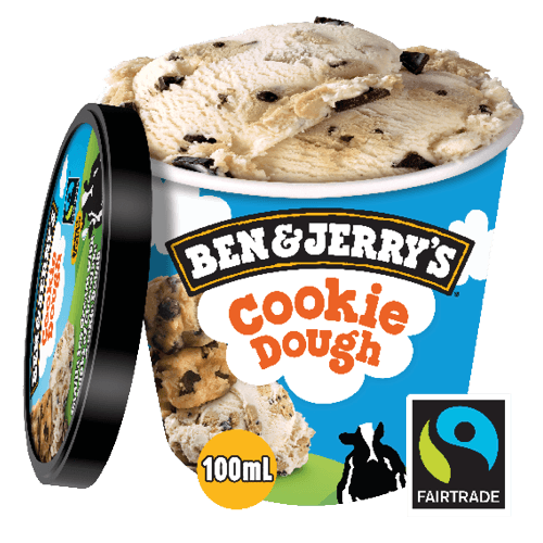 Foto Ben & Jerry's Cookie Dough 100 ml